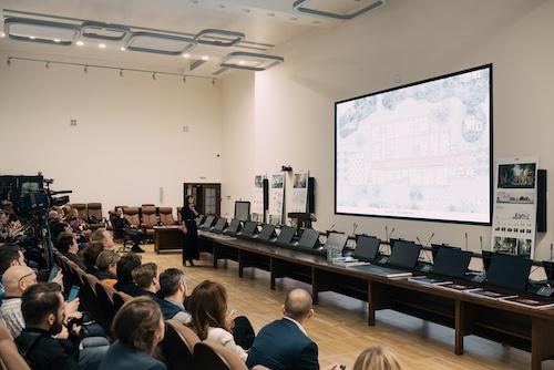 Эксперты обсудили концепцию развития территории Бадаевского завода в Москомархитектуре