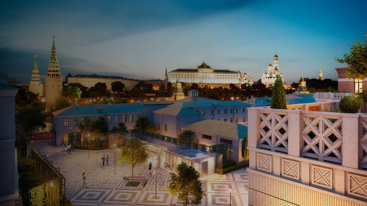 The Residences at Mandarin Oriental, Moscow - Capital Group